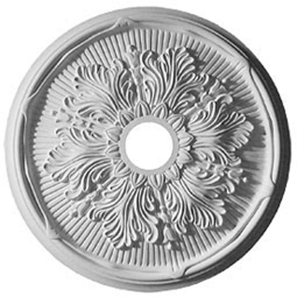 23-3/4 in. Luton Leaf Ceiling Medallion
