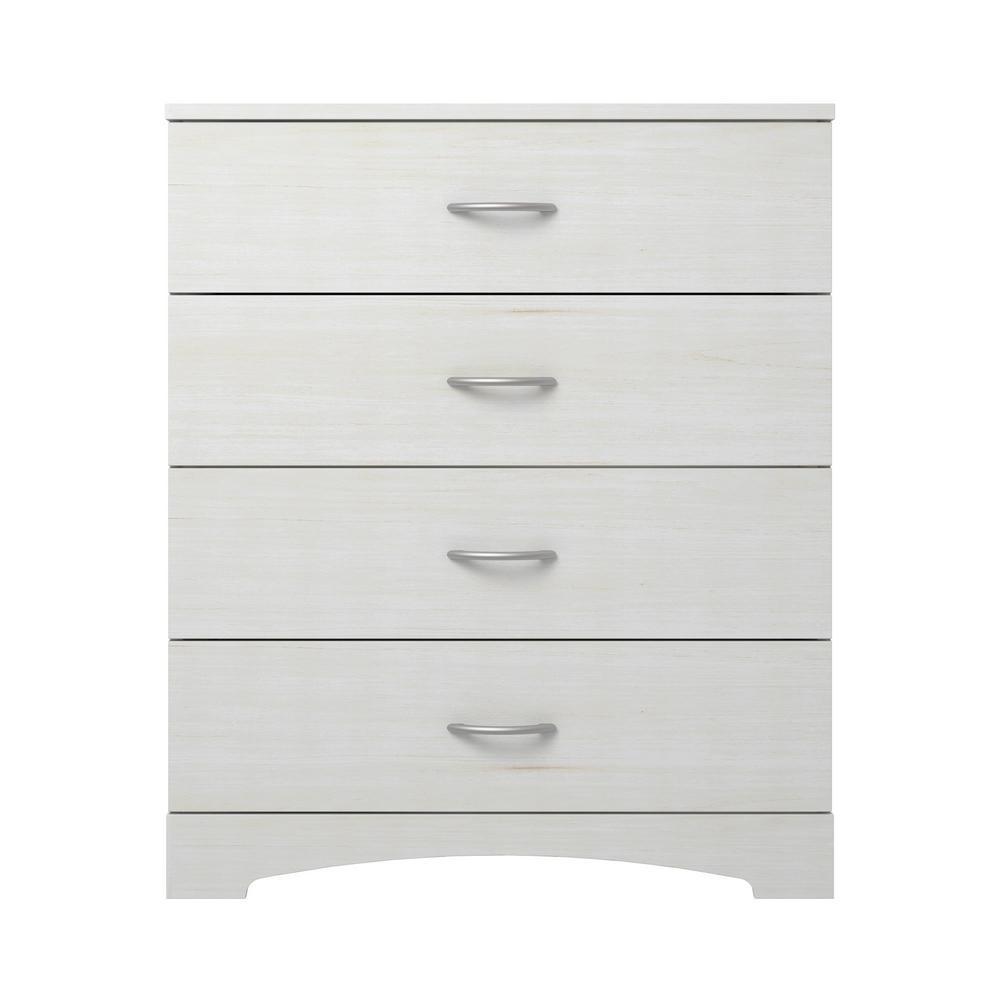 Richmond 4-Drawer Ivory Dresser