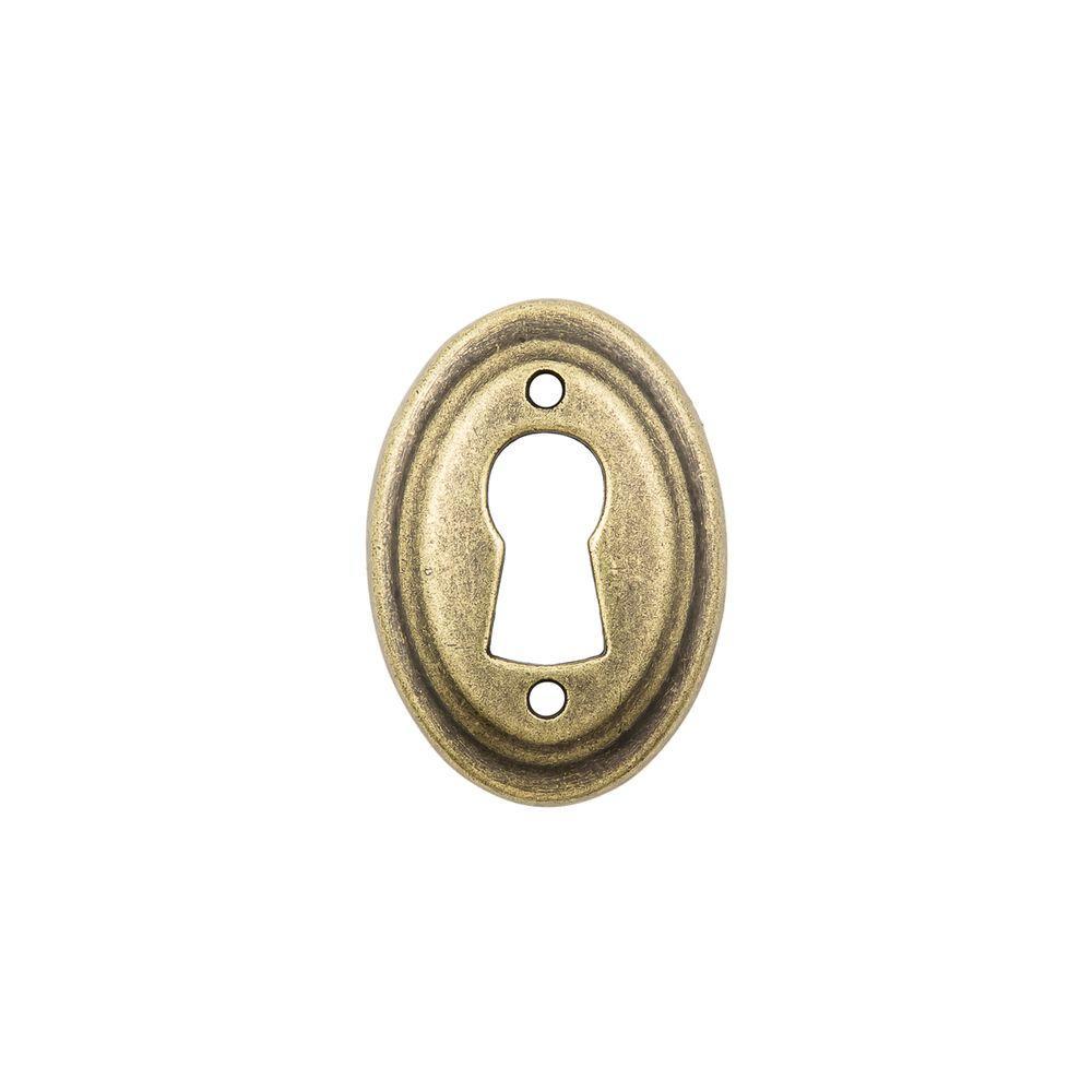 Sumner Street Home Hardware 13/16 in. Antique Brass Keyhole