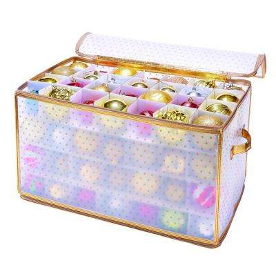 Gold Nylon Ornament Organizer (112-Count)