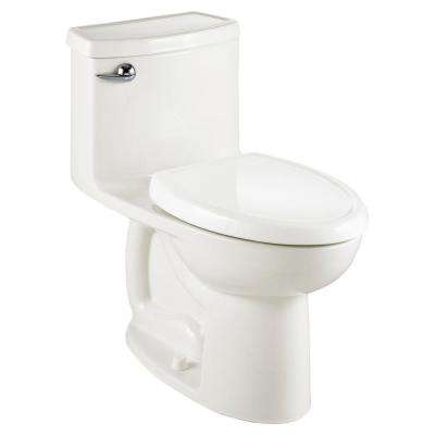 Compact Cadet 3-FloWise Tall Height 1-Piece 1.28 GPF Single Flush Elongated Toilet in White, Seat Included