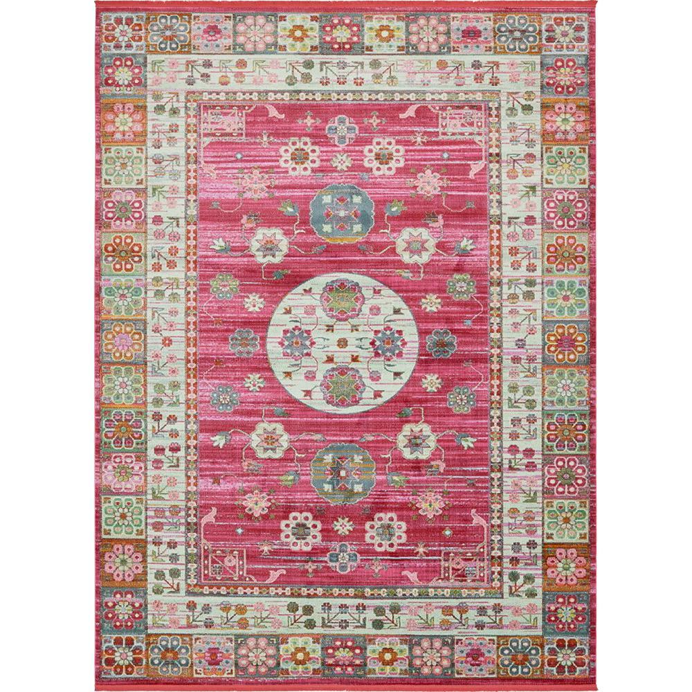 Baracoa Pink 10' x 13' Rug