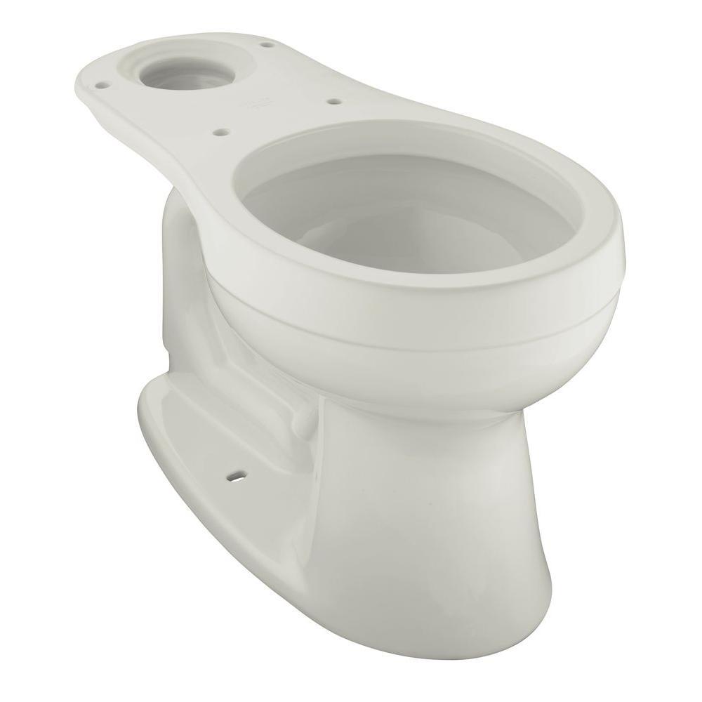KOHLER Cimarron Round Front Toilet Bowl Only Less Seat in Ice Grey