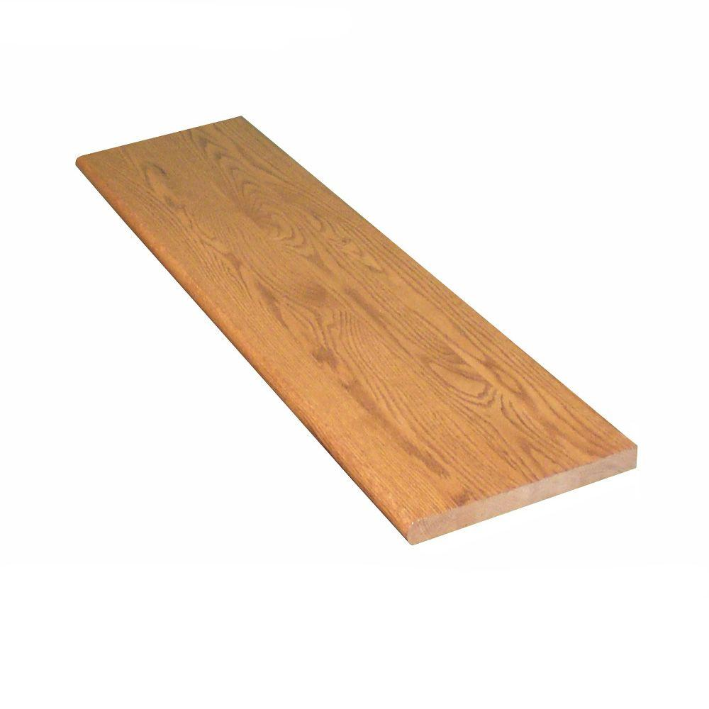 This Review Is From:1 In X 11.5 In. X 42 In. Prefinished Gunstock Red Oak  Tread