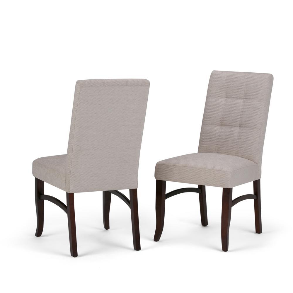 Ezra Platinum Deluxe Dining Chair (Set of 2)