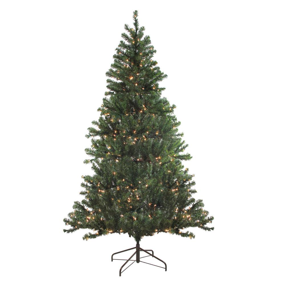 Northlight 72 in. Pre-Lit Balsam Pine Artificial Christmas ...
