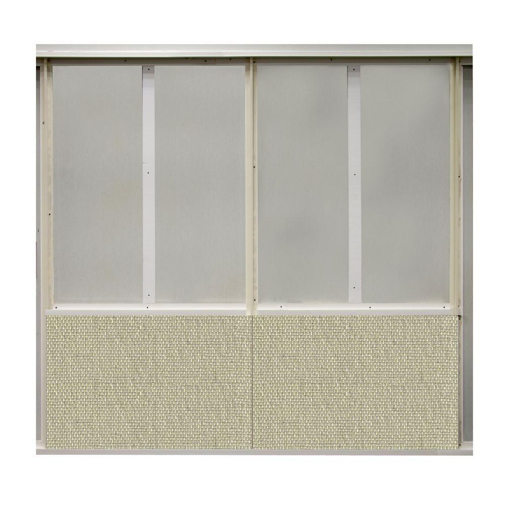 20 sq. ft. Warhol Fabric Covered Bottom Kit Wall Panel