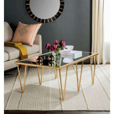 Arlene Antique Copper Coffee Table
