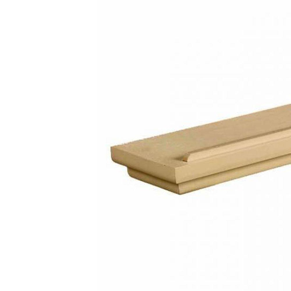 Home Decorators Collection Mantel 36 in.W x 1.5 in. H Natural Floating Shelf