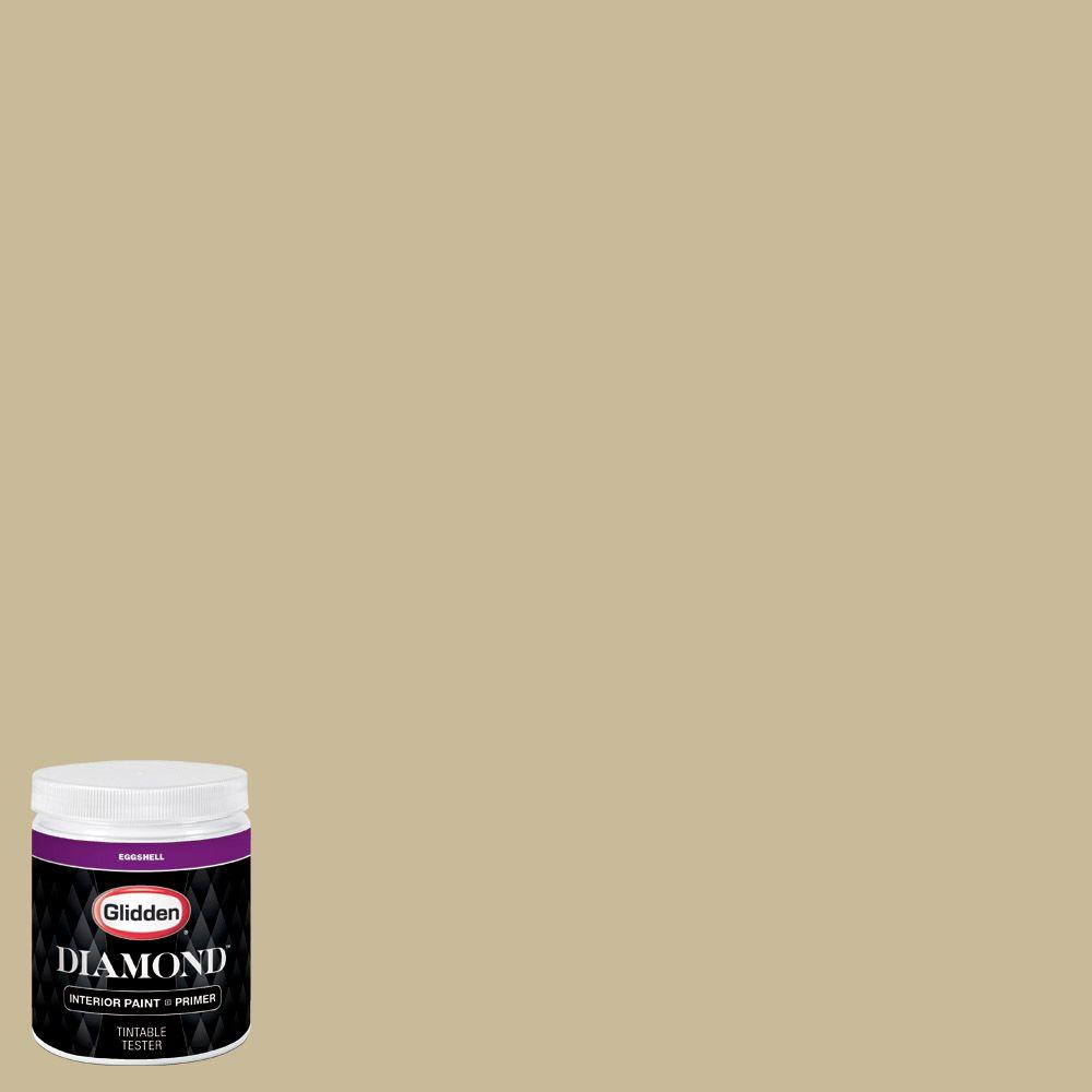 Glidden paint reviews interior glidden diamond 8 oz hdgo65 warm spice brown eggshell glidden for Glidden premium interior paint reviews