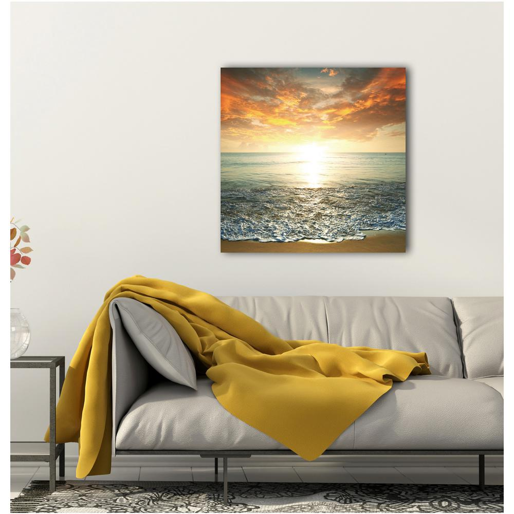 32 In X 32 In Quot Dreamscape Quot Photography Hidef Glass Wall