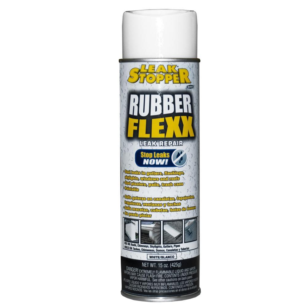 Gardner 15 Oz Leak Stopper 174 Rubber Flexx Sealant White
