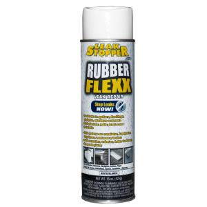 Gardner 15 oz  LEAK STOPPER® RUBBER-FLEXX Sealant (White)-0326-GA - The  Home Depot