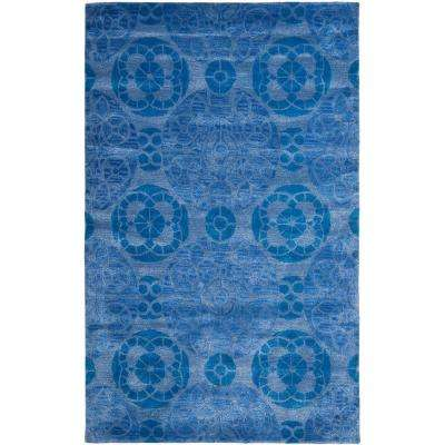 Wyndham Blue 8 ft. 9 in. x 12 ft. Area Rug