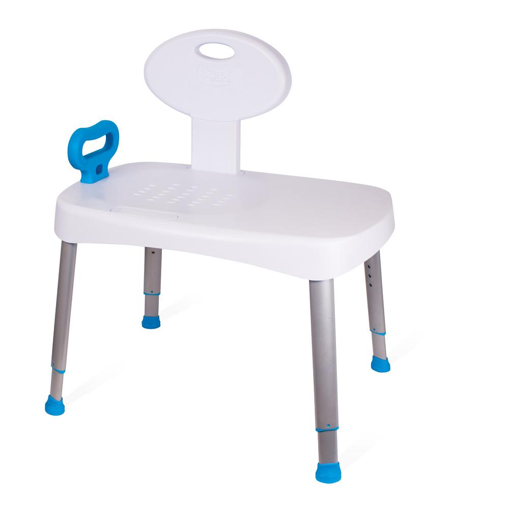Carex Health Brands Easy Transfer Bench-FGB16600 0000 - The Home Depot