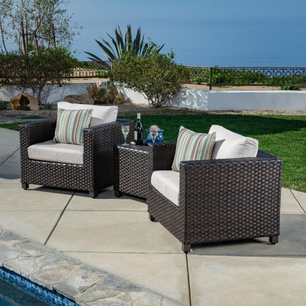 Ae Outdoor Naples 3 Piece All Weather, Patio Furniture Naples