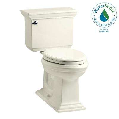 Memoirs Stately 2-piece 1.28 GPF Single Flush Elongated Toilet with AquaPiston Flush Technology in Biscuit