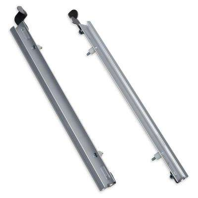 26.75 in. x 1.375 in. XL Silver Sliding Track with Flip Lock