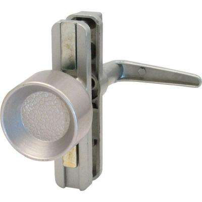 Screen Door Universal Knob Latch with Adjustable Centers Aluminum