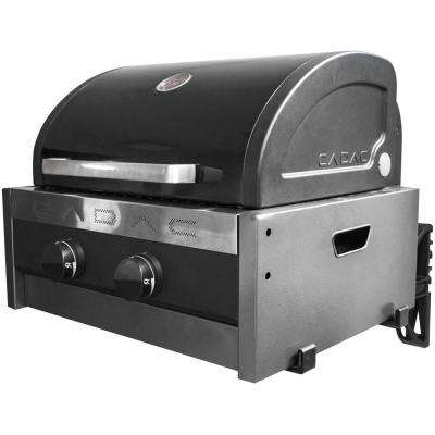Tailgater Chef 2-Burner Portable Propane Gas Grill with RV Bracket