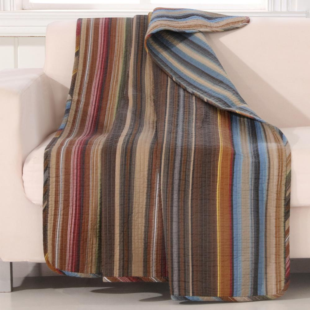 Durango Multi Quilted Cotton Throw