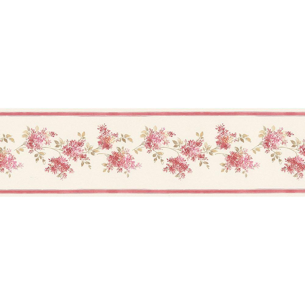 Lilac Wallpaper Border