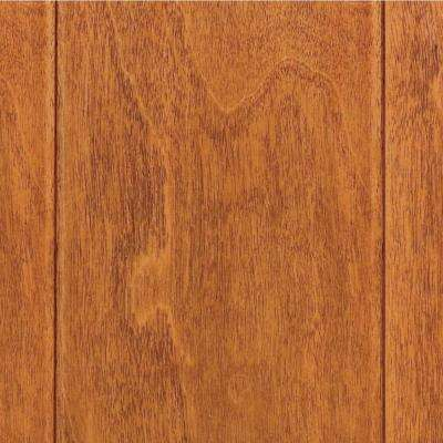 Take Home Sample - Hand Scraped Maple Sedona Click Lock Hardwood Flooring - 5 in. x 7 in.