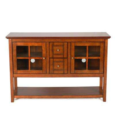 Rustic Brown Buffet with Storage