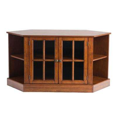 Thomas Walnut Entertainment Center