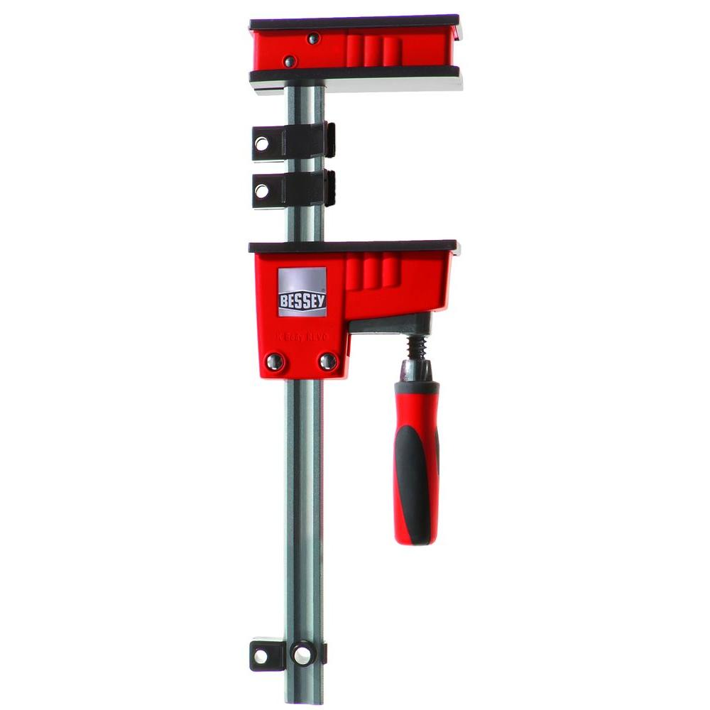 BESSEY 50 in. K-Body REVO Parallel Clamp with Composite Plastic Handle and 3-3/4 in. Throat Depth