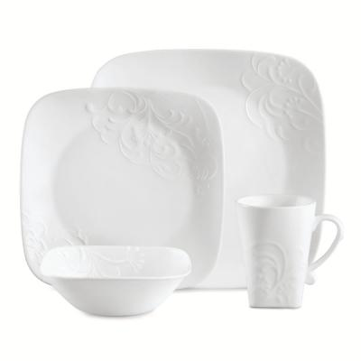 Boutique 16-Piece Cherish Dinnerware Set