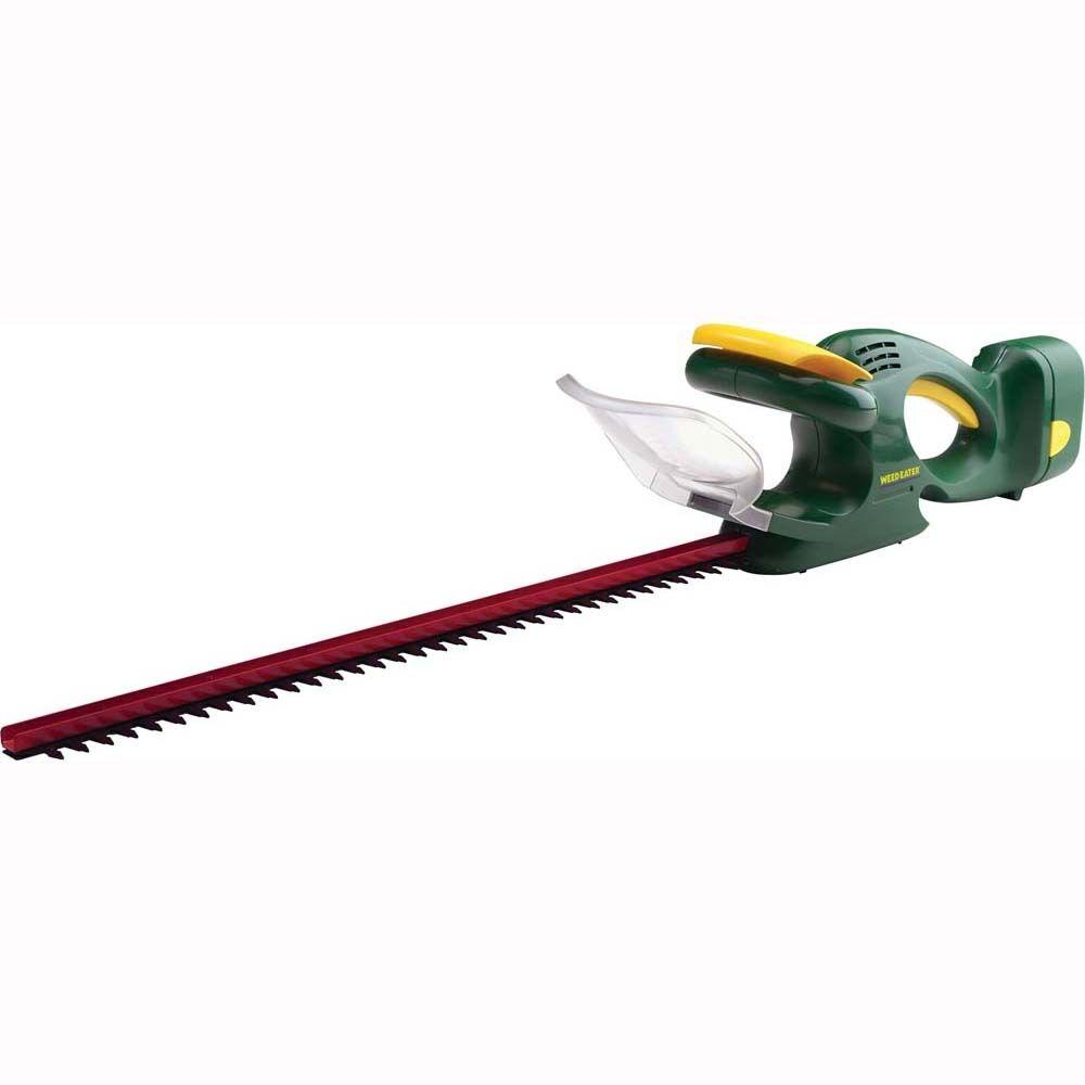 Weed Eater 22 in. 18-Volt Ni-Cad Cordless Hedge Trimmer with Battery and Charger-DISCONTINUED
