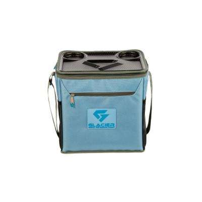 Glacier Coolers IceCube 18 Qt. Blue Soft-Side Cooler
