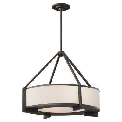 Stelle 4-Light Oil Rubbed Bronze Large Pendant