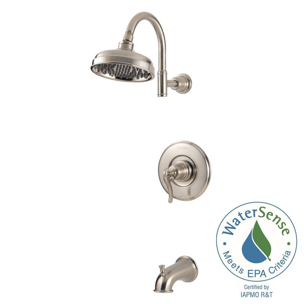 Pfister Ashfield Single-Handle 1-Spray Tub and Shower Faucet Trim ...