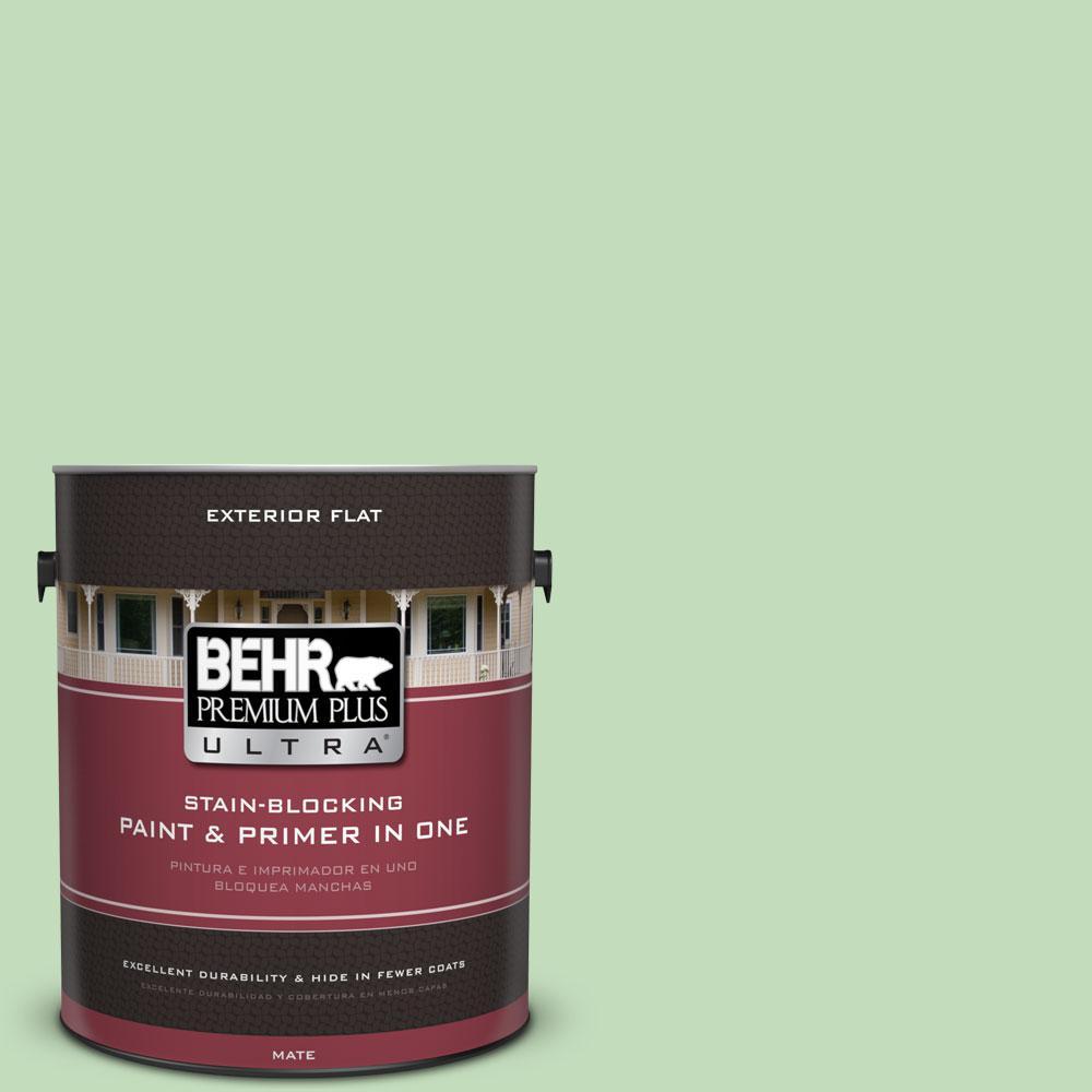 BEHR Premium Plus Ultra 1-gal. #M390-3 Galway Flat Exterior Paint