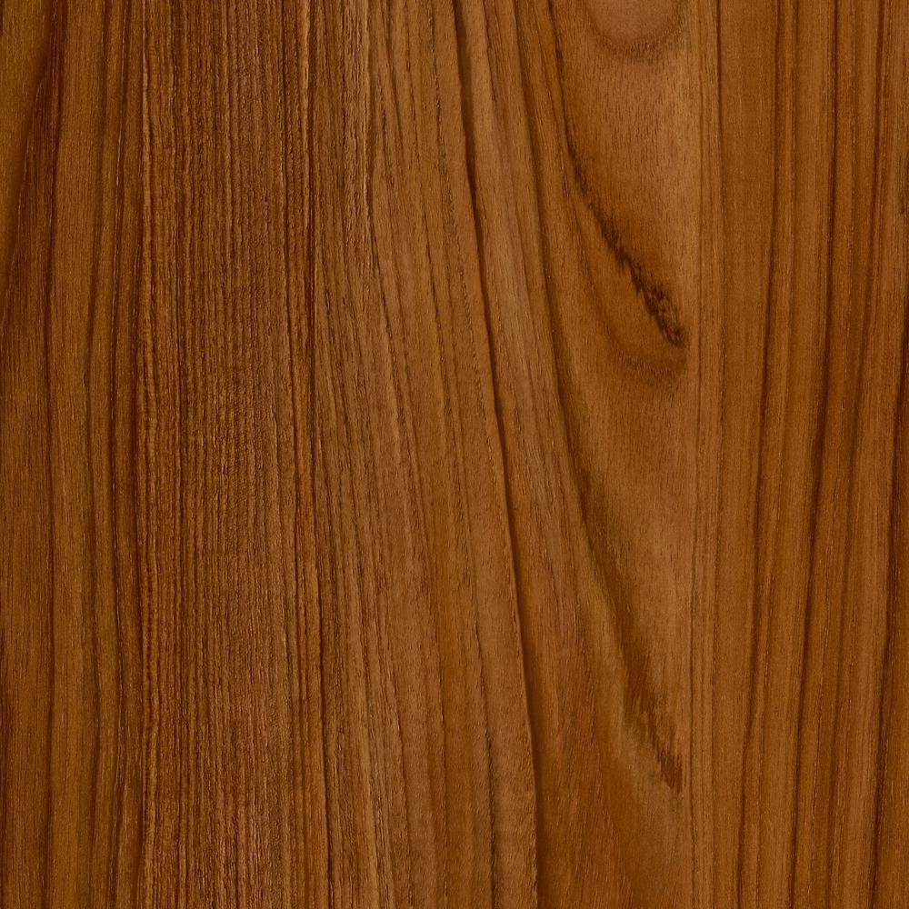 Trafficmaster Take Home Sample Teak Luxury Vinyl Plank
