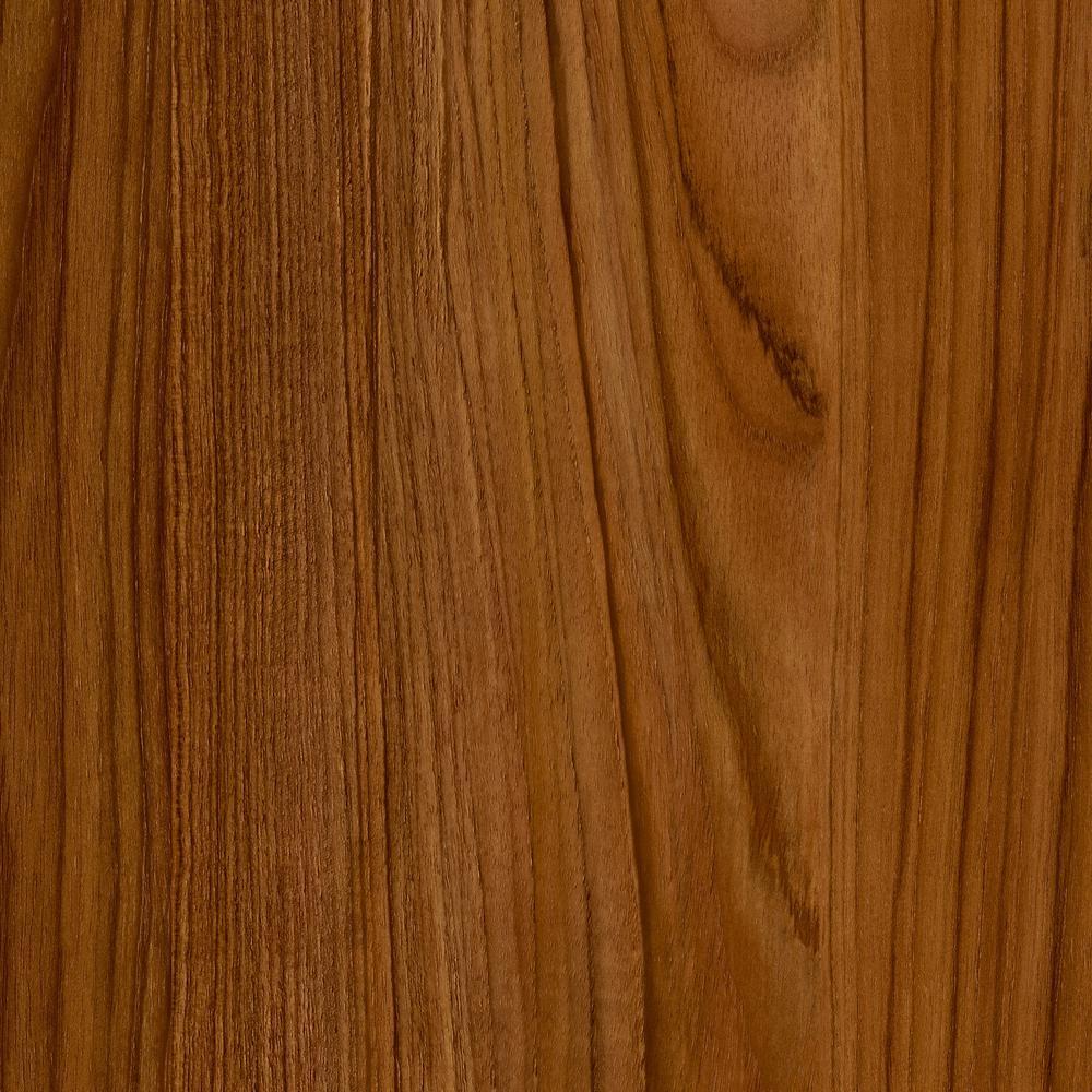 Trafficmaster Take Home Sample Teak Luxury Vinyl Plank Flooring 4 In X 4 In
