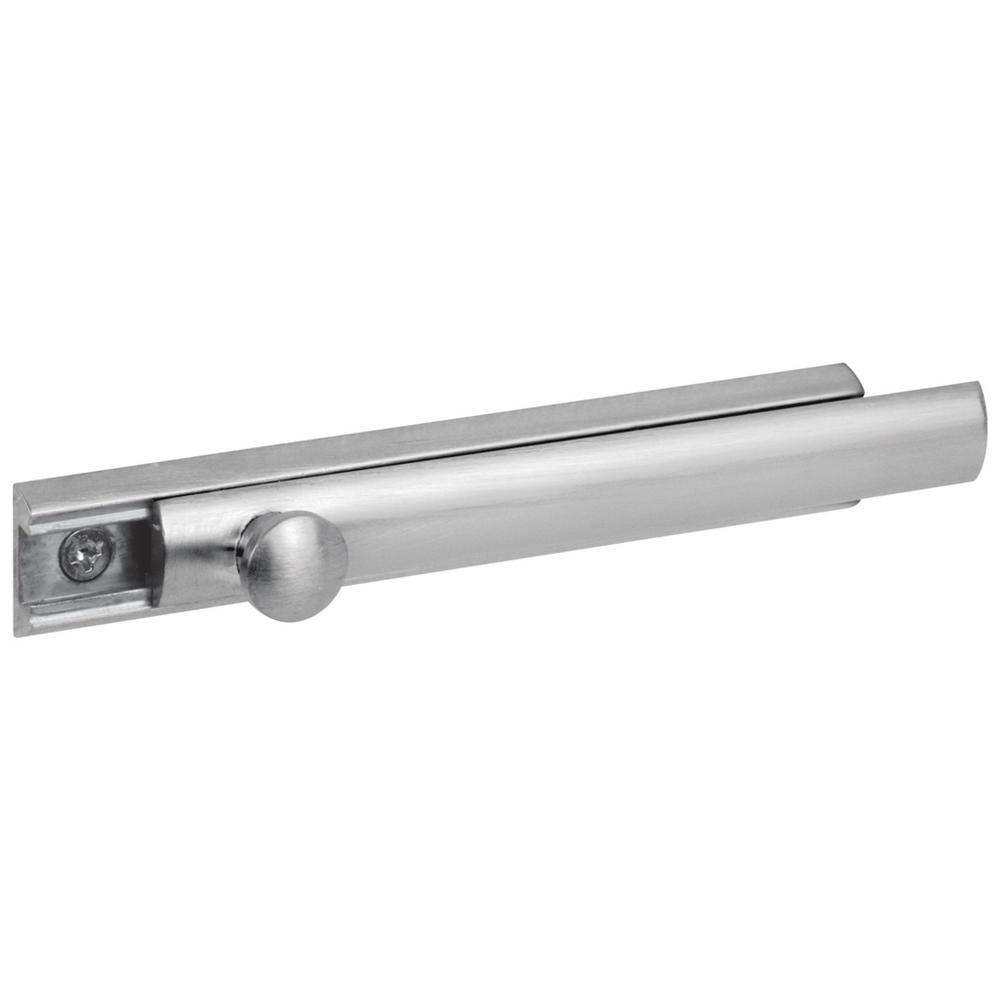 Prime Line Satin Nickel Slide Bolt And Keeper U 10306