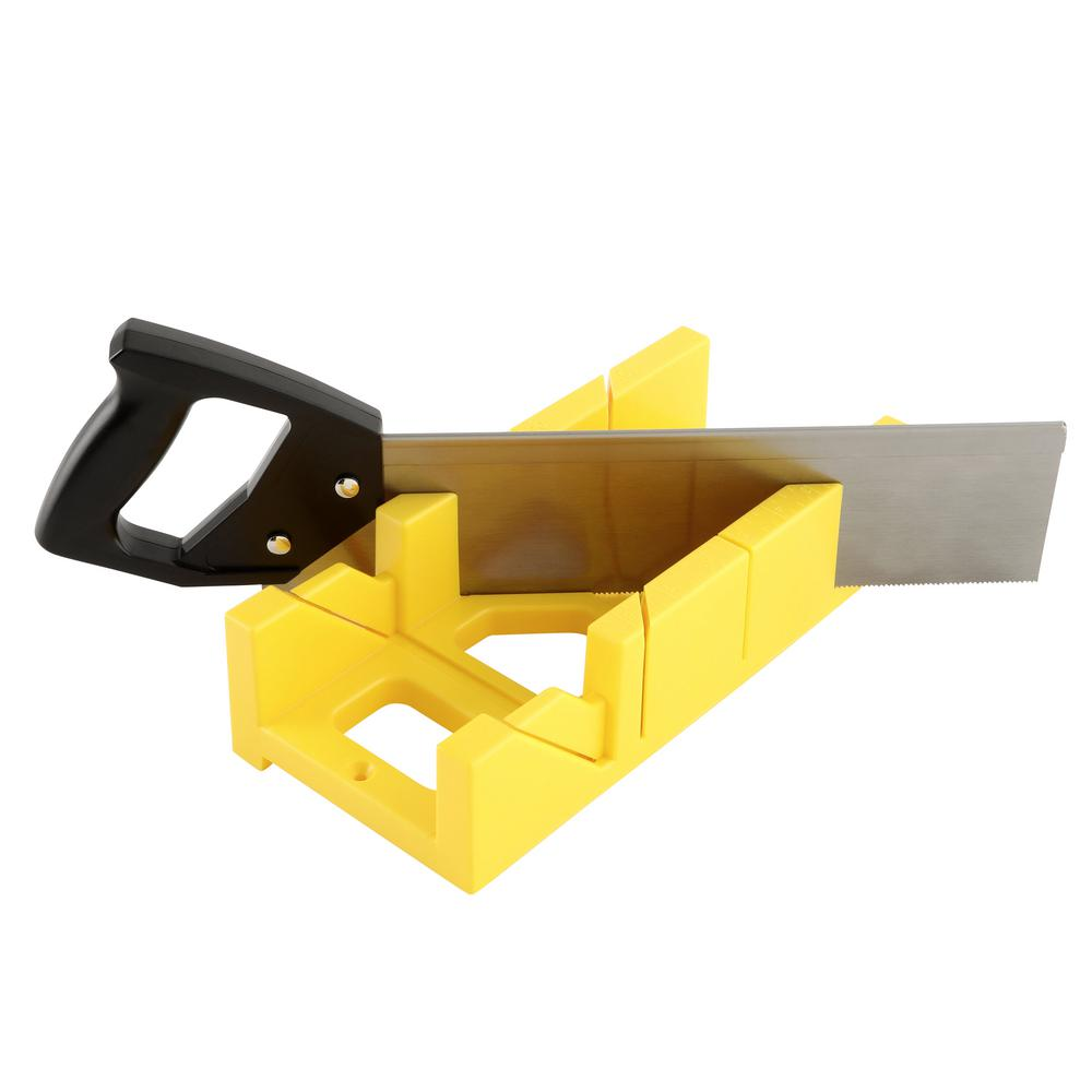 Stanley Miter Box W//Saw