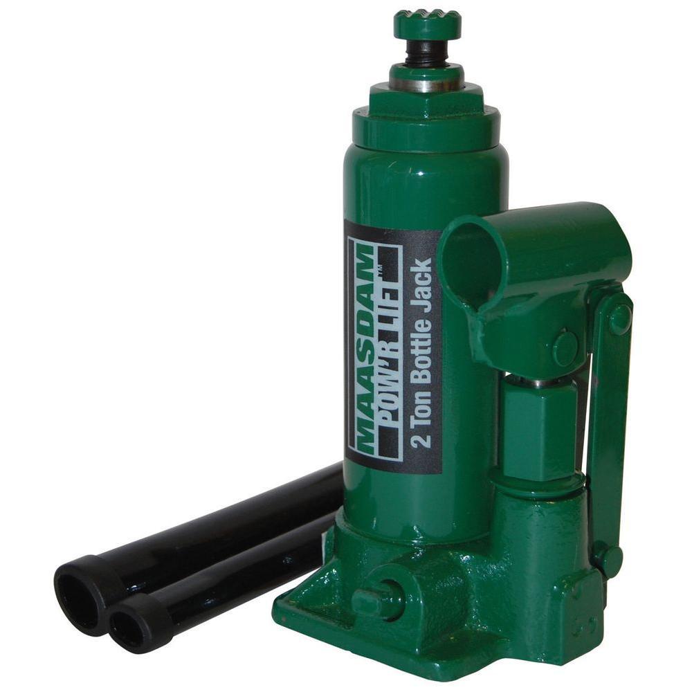 Pro Lift Jack Repair Parts : Maasdam pow r lift ton bottle jack mpl b the home depot