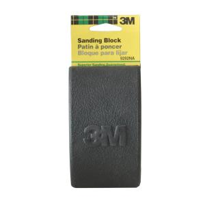3M 2-5/8 inch x 4-3/4 inch x 1-1/4 inch Sanding Block (Case of 6) by 3M