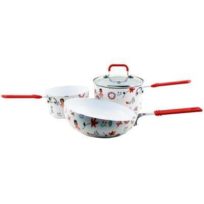Children's Line 3-Piece Multicolor Cookware Set