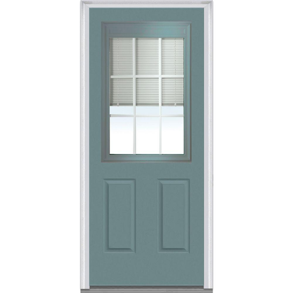 MMI Door 36 in. x 80 in. Internal Blinds and Grilles Righ.  sc 1 st  Nextag & Milliken doors lowes | Compare Prices at Nextag