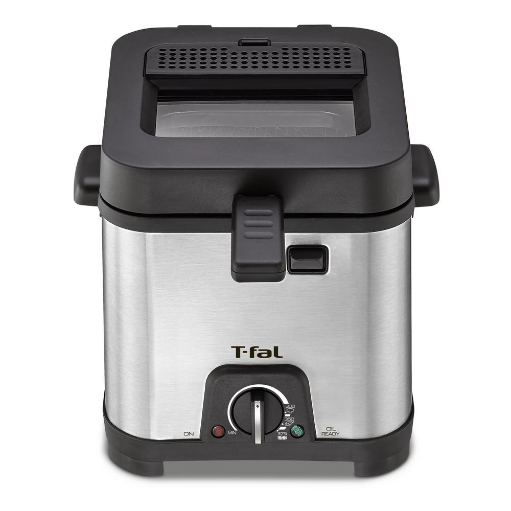 Non-Stick Deep Fryer, Stainless/Black