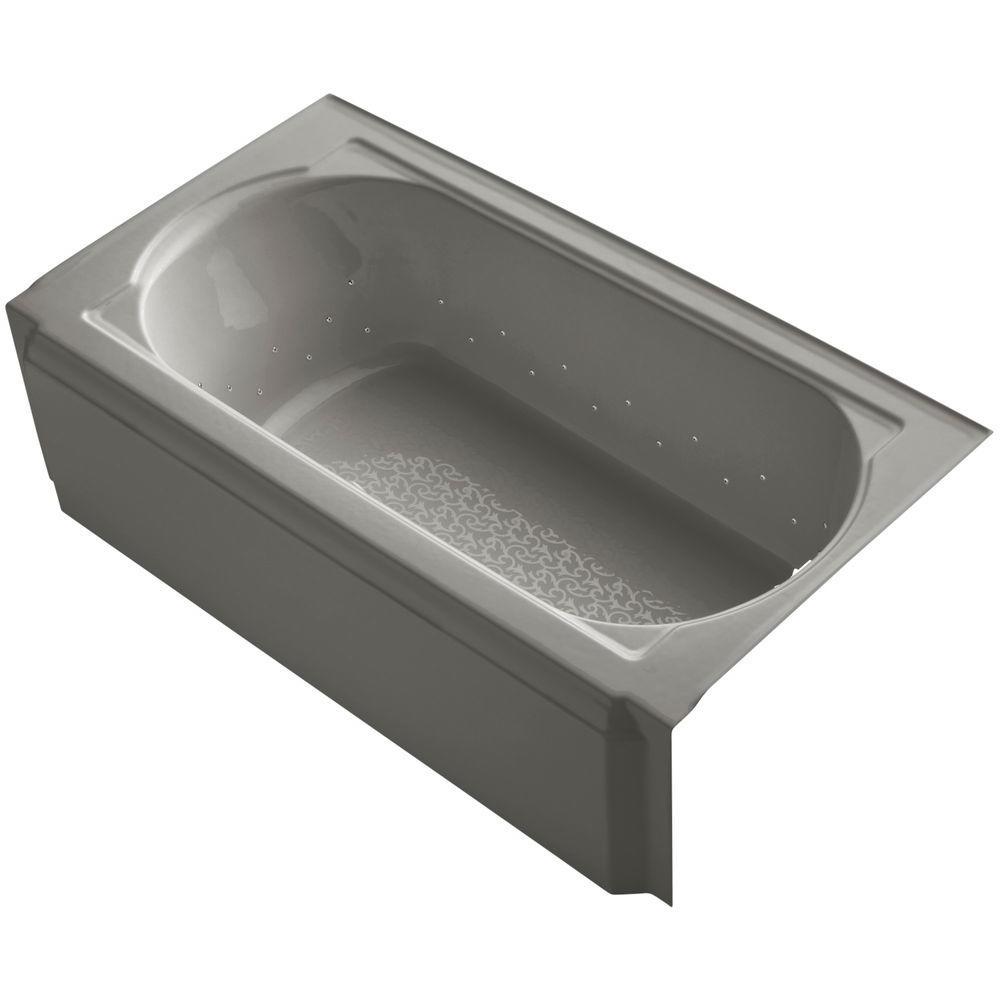 Memoirs 5 ft. Air Bath Tub in Cashmere