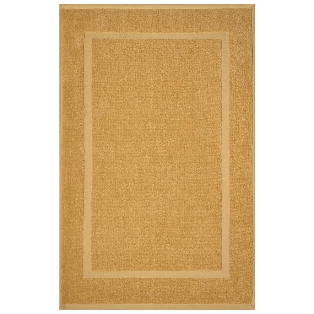 Newport Gold 20 in. x 34 in. Egyptian Cotton Bath Mat