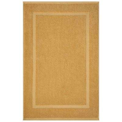 Newport Gold 20 in. x 34 in. Egyptian Cotton Bath Mat