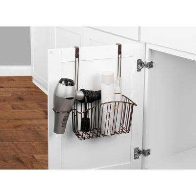 Contempo 13.75 in. W Over the Cabinet Styling Center in Bronze