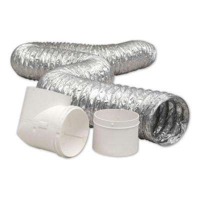 4 in. x 8 ft. Dryer to Duct Connector Kit